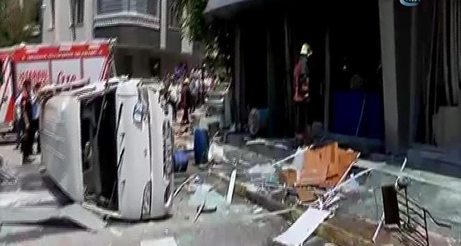 İstanbul'da bir iş yerinde patlama!