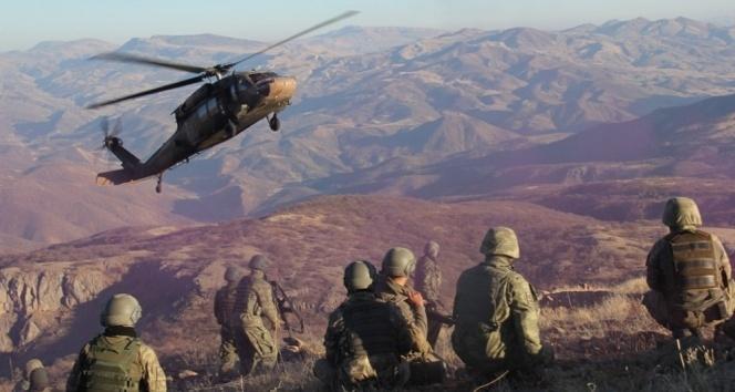 Irak kuzeyinde ve Mardin Ömerli ilçesi kırsalında toplamda 6 terörist etkisiz hale getirildi