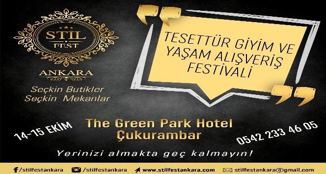 a3a4829fb9072 Stil Tesettür Giyim ve Yaşam Alışveriş Festivali ünlü tasarımcı ve butikleri  Başkentlilerle buluşacak