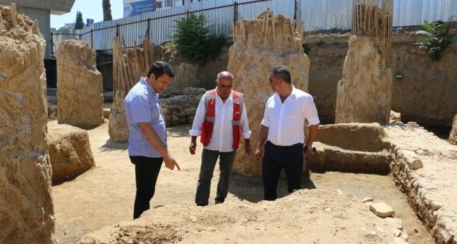 Kartal'da Marmaray kazısında tarihi mezar kalıntıları bulundu