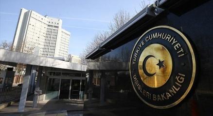 Dışişleri Bakanlığından KKTC Cumhurbaşkanı seçilen Tatara tebrik