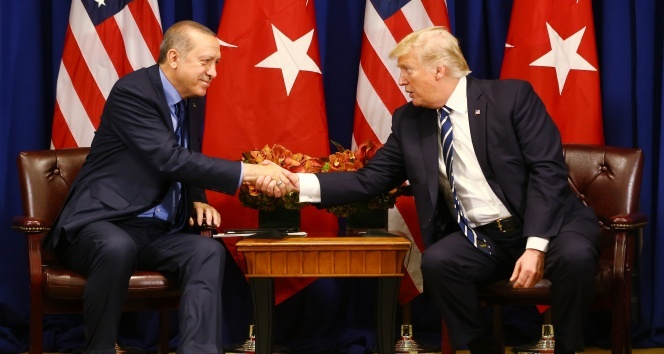 Cumhurbaşkanı Erdoğan, Trump ile telefonda görüştü!