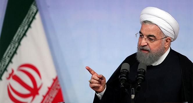 İran Cumhurbaşkanı: 'Savaş peşinde olanlar kaybedecek'