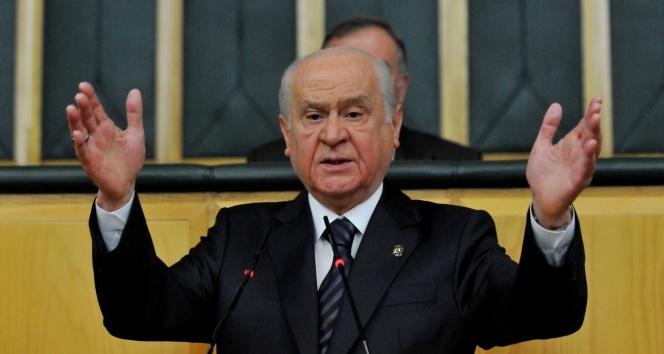 """MHP Genel Başkanı Devlet Bahçeli: """"Coğrafyanın mesajına kulak verip birlik ve beraberlik çağrısı yapıyoruz"""