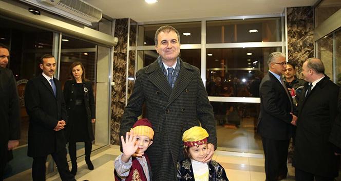AB Bakanı Çelik Van'da