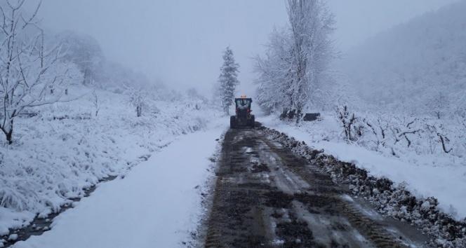Trakya'ya kar yağışının ardından don uyarısı