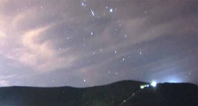 Geminid meteor yağmuru Nilüfer'de izlendi