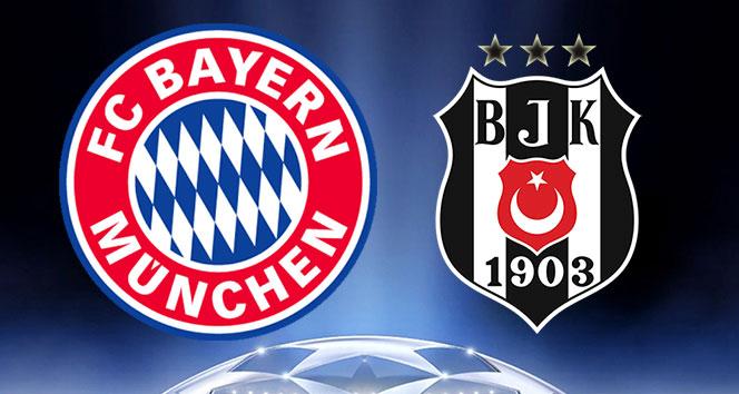Bayern Münih Beşiktaş maçı ne zaman,saat kaçta hangi kanalda,şifresiz mi ?