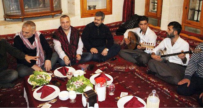 Oktay Kaynarca Şanlıurfa'da sıra gecesine katıldı
