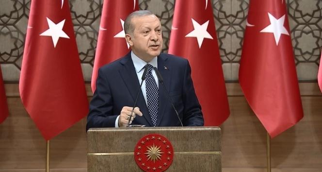 Cumhurbaşkanı Erdoğan 'Kut'ül Amare' dizisinin tanıtımına katıldı