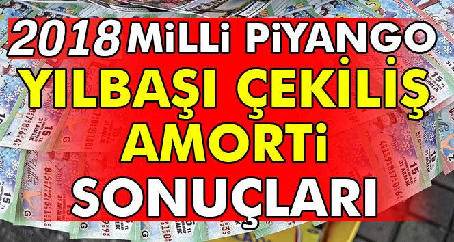 Amorti 2018 Hangi Numaralar Milli Piyango Yılbaşı 'Amorti' Hangi numaralara çıktı.. MP Yılbaşı çekilişi 2018 amorti