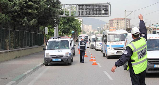 Sokağa çıkma kısıtlamasını ihlal eden 25 bin 439 kişiye işlem yapıldı