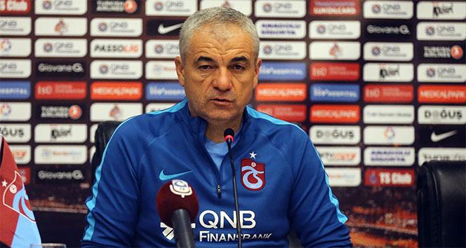 Rıza Çalımbay, Trabzonspor'dan ayrılacağını açıkladı