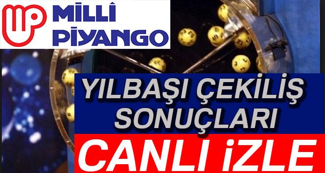 Milli Piyango YILBAŞI ÇEKİLİŞİ CANLI İZLE TRT1 2019 Büyük ikramiye kazanan numara MPİ