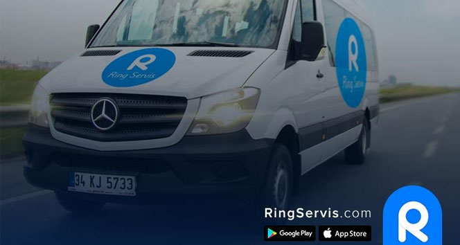 Türkiye'nin ilk kişiye özel personel servisi 'Ring Servis'