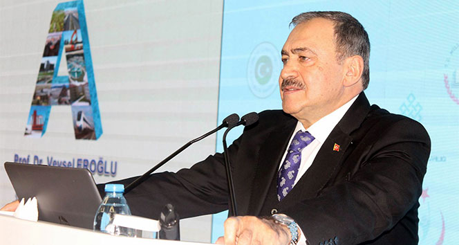 Bakan Eroğlu: 'Dünyada 2,5 milyara yakın insan su sıkıntısı çekiyor'