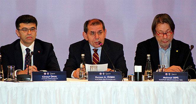 Dursun Özbek: '6222 sayılı kanunla güvenlik konularında çok önemli ilerlemeler sağlandı'