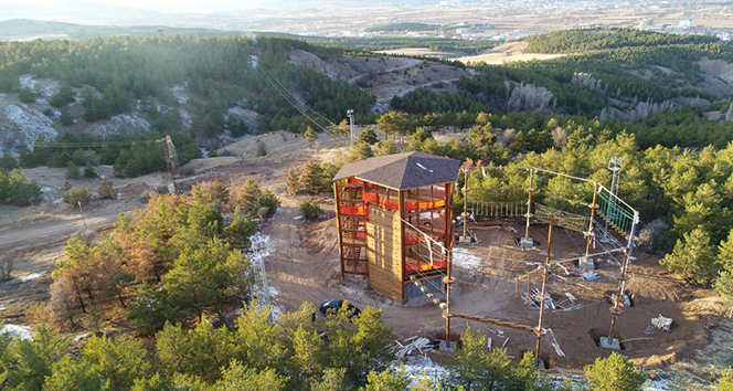 Türkiye'nin en büyük 'macera parkı' olacak