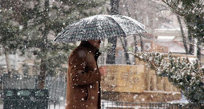 Meteoroloji'den Marmara için yoğun kar yağışı uyarısı