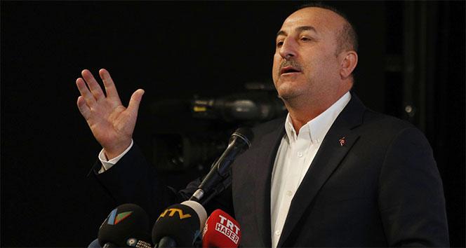 Çavuşoğlu, 'Kimse afra tafra yapmasın'