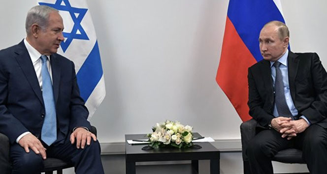 Putin ile Netanyahu Moskova'da bir araya geldi