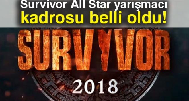 Survivor All Star yarışmacı kadrosu belli oldu (2018 Survivor kadrosunda kimler var?)