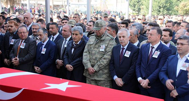 Afrin şehidi Serkan Pamukçu Hatay'da defnedildi