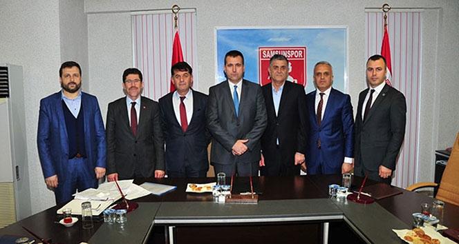 Samsunspor'da kayyum görev dağılımı yapıldı