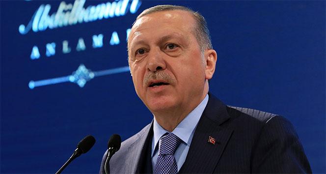Erdoğan: '3213 terörist etkisiz hale getirildi'
