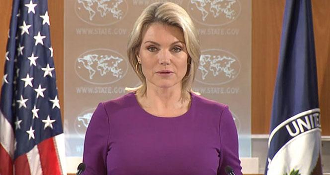 Nauert: 'Türkiye'nin haklı güvenlik kaygıları var'