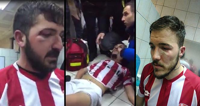 Yeni Çanspor'lu futbolcular saldırıyı anlattı
