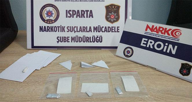 Isparta'da uyuşturucu operasyonu: 6 gözaltı