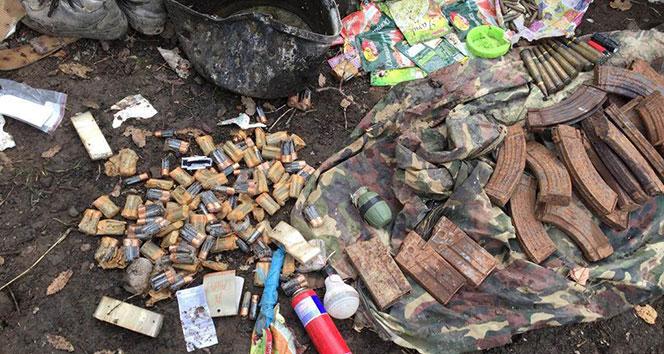 Şırnak'ın Cudi Dağı'nda 2 mağara ve bir barınak imha edildi
