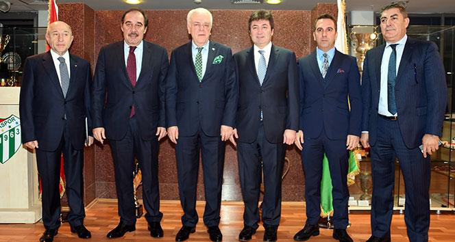 TFF yönetim kurulu toplantısını Bursa'da yaptı