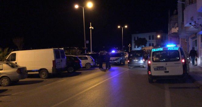 Sinop'ta motosikletle otomobil çarpıştı: 1 yaralı