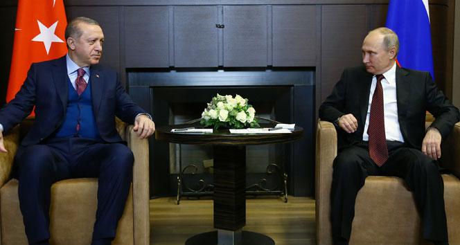 Cumhurbaşkanı Erdoğan ile Putin'in görüşme tarihi belli oldu