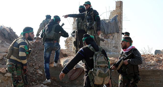 Suriye Milli Ordusu Tel Abyad sınırına ilerliyor