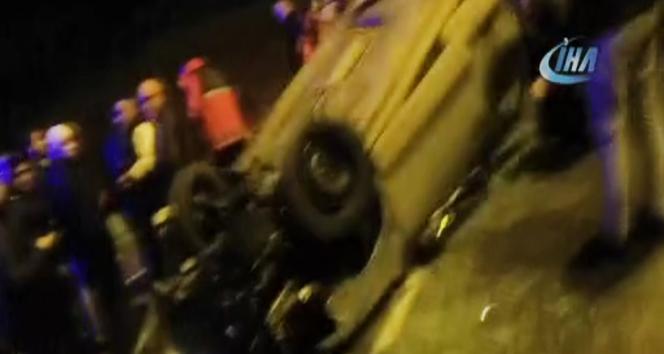 Polonya otobüsü Almanya'da kaza yaptı: 7'si ağır, 13 yaralı
