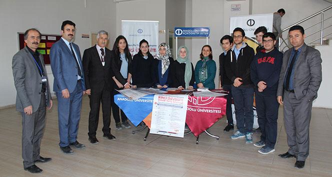 Anadolu Üniversitesinden 'İkinci Üniversite' tanıtımı