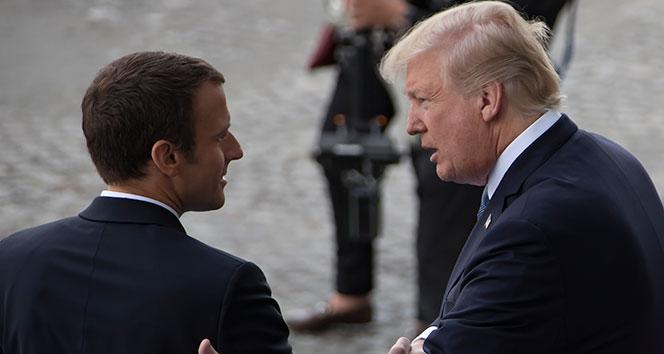Trump'tan NATO'nun beyin ölümünün gerçekleştiğini söyleyen Macron'a tepki