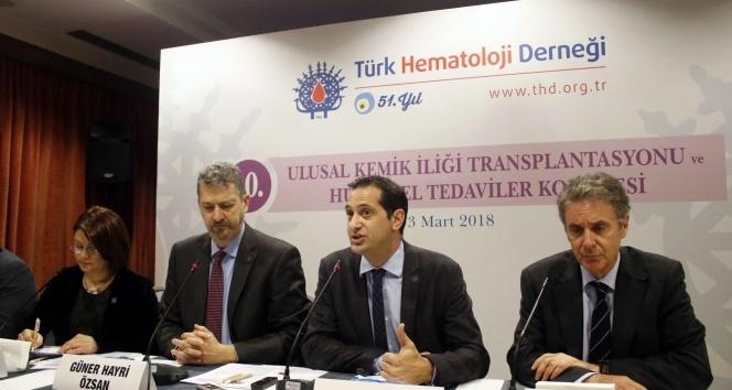 THD Başkanı Özsan: 'TÜRKKÖK donör bekleme süresini 88 güne geriletti'