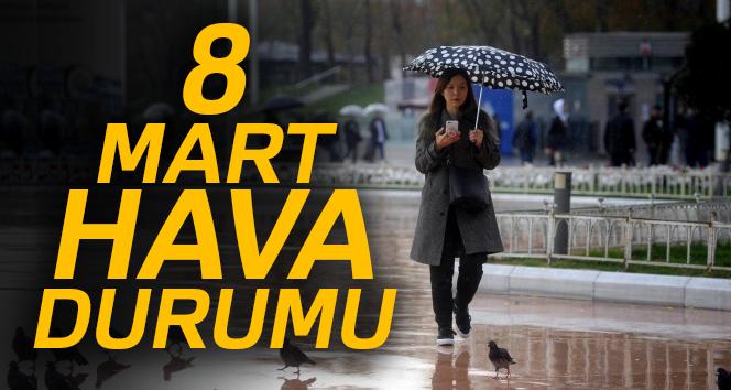 İstanbul için uyarı! Sağanak yağış geliyor | 8 Mart 2018 Perşembe hava durumu