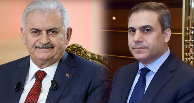 Başbakan Yıldırım, MİT Müsteşarı Fidan'ı kabul etti !