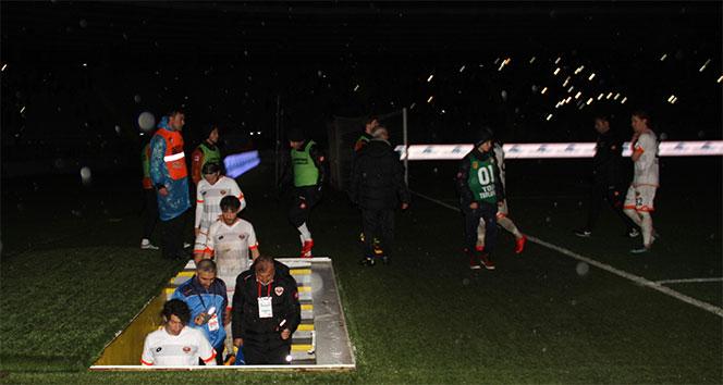 MKE Ankaragücü - Adanaspor maçı ertelendi