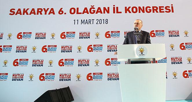 Erdoğan: 'Salamura olmaktan nasıl kurtulduklarını iyi öğrensinler'