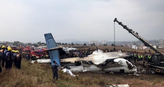 Nepal'deki uçak kazasında ölü sayısı 49'a yükseldi