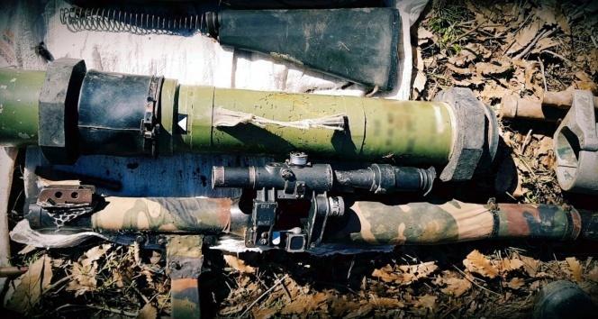 TSK'dan terör örgütüne büyük darbe! Güdümlü tanksavar füzesi...
