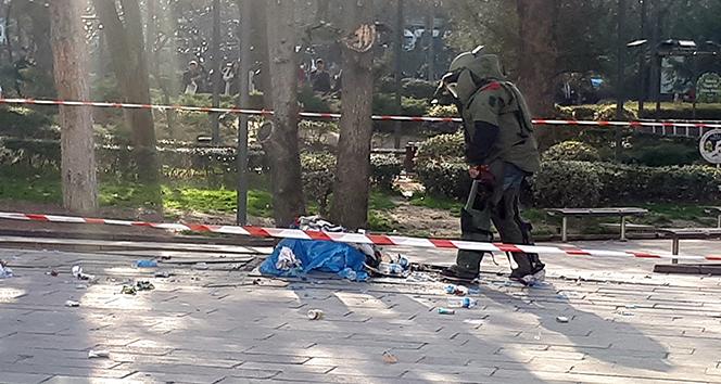 Ankara'da şüpheli paket polisi alarma geçirdi