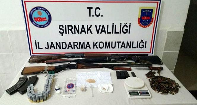 Şırnak'ta uyuşturucu tacirlerine operasyon: 7 gözaltı