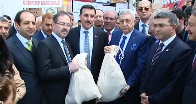 Türkiye'nin 81 ilinden Afrin'e yardım tırları gidiyor